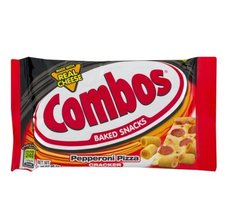 Combos Baked Snacks Pepperoni Pizza