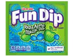 Wonka Fun Dip Lik-M-Aid Razz Apple - 4ct