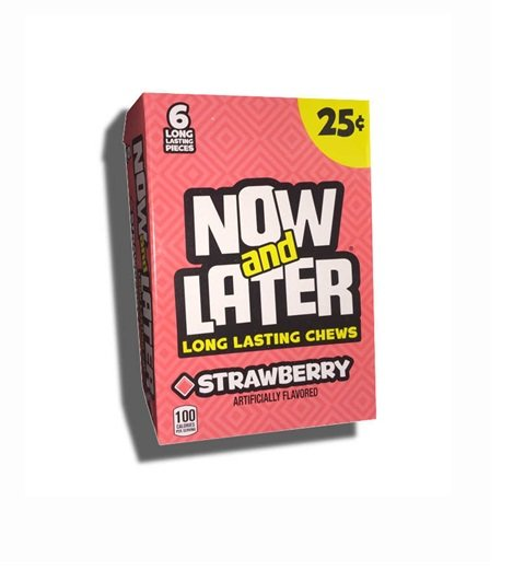 Now and Later Strawberry