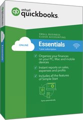 QuickBooks Online Essentials: up to 3 users