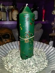 "Candle - The ""Benjamins"" - Money Drawing"