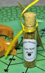 Law Keep Away Conjure Powder