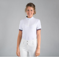 B VERTIGO TAYLOR TECHNICAL SHIRT-WHITE