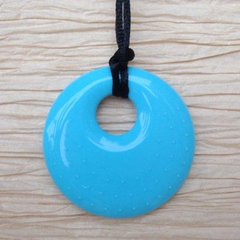 Chewable Pendant Necklace - Turquoise