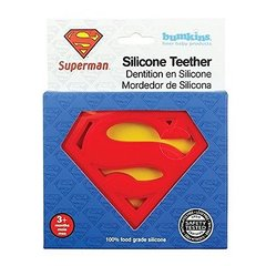 DC Comics Superman Silicone Teether