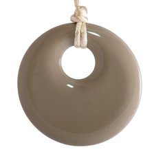 Chewable Pendant Necklace - Mocha