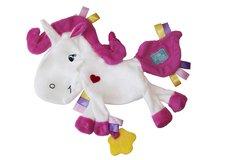 Little Num Nums Taggie Comforter - Silver the Unicorn