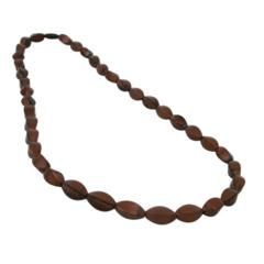 Chewable Tulip Beads - Bronze Swirl
