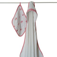 Aden + Anais - Hooded Towel Set - Bathing Beauty