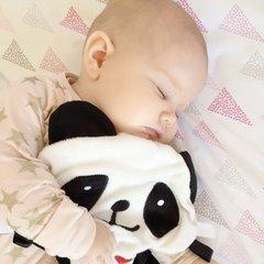 Little Num Nums Taggie Comforter - Popo the Panda