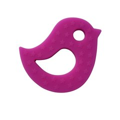 Little Num Nums Teether - Hot Pink Birdy