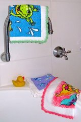 Fun Funky Kids Washcloths