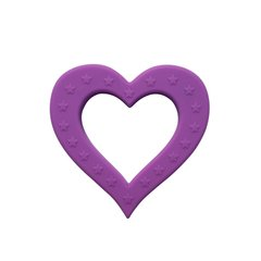 Little Num Nums Teether - Purple Heart