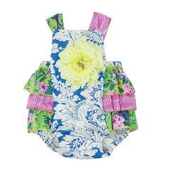 Haute Baby Garden Blossom Sunsuit