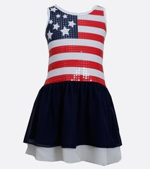Bonnie Jean Sequin American Flag