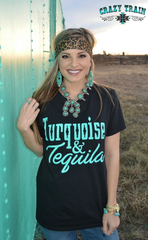 Crazy Train Turquoise and Tequila