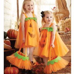 Mud Pie Tulle Pumpkin Dress