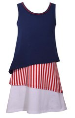 Bonnie Jear Tiered American Dress