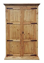 Natural Armoire w/ Hideaway Bed (twin)
