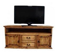 2 Drawer 2 Door TV Stand