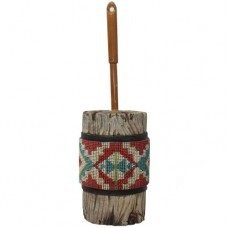 Aztec Toliet Brush Holder