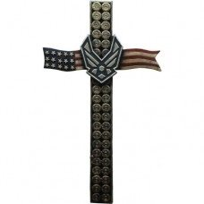 Air Force US Flag Bullet Cross