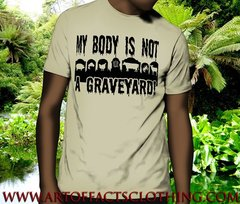 My Body Is Not A Graveyard! - VeganHood Designs