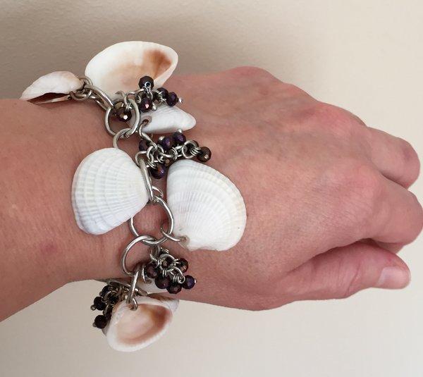 Make Your Own Seashell Jewelry: Florida Keys Seashell Bracelet