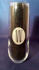 Custom Laser Engraved Stemless Wine Glasses - Set of 4