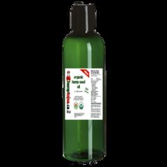 Organic Hemp Seed Oil 8 oz. Bottle / Cold pressed / Case of 24
