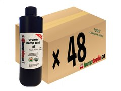 Case 48 Organic Hemp Seed Oil Cold Pressed 500ml