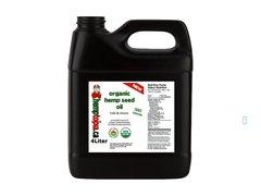 Organic Hemp Seed Oil Cold Pressed 4 liters