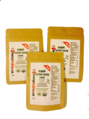 2 oz Hulled Hemp Seeds Organic