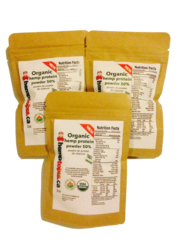 Organic Hemp Protein Powder 50% 2 oz