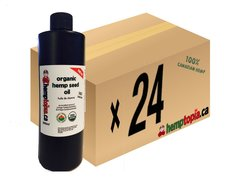 Case 24 Organic Hemp Seed Oil 500ml Cold pressed
