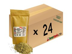 Organic Hulled Hemp Seeds Case of 24, 454 gram (1 lb) bags.