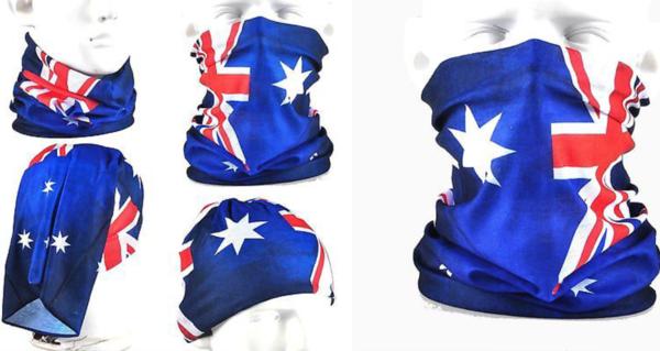1 x aussie flag face sock