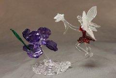 Fairy Iris Spring Scene