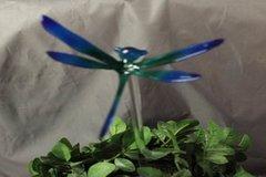 Dragonfly Plant Stick