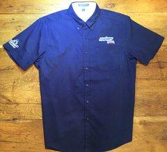 OSKART USA® Logo Embroidered Button Down Shirts