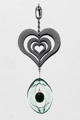 0812 Heart Metal Mini Chime