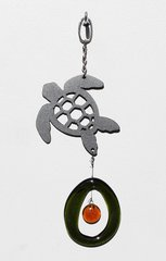 0813 Sea Turtle Metal Mini Chime