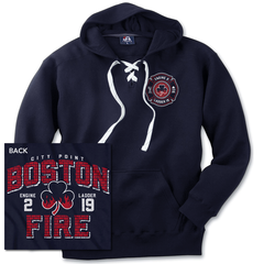 Boston Fire Brickhouse Hockey Hoodie
