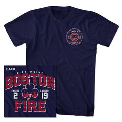 Boston Fire Brickhouse Tee
