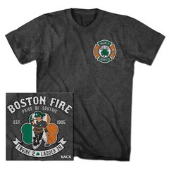 Boston Fire Lucky Leprechaun Tee