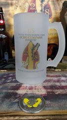 2nd Battalion 8th Marine Division Battalion Frosted Mug