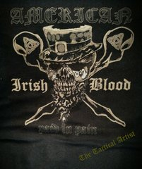 American Irish Blood St Patrick's Shirt