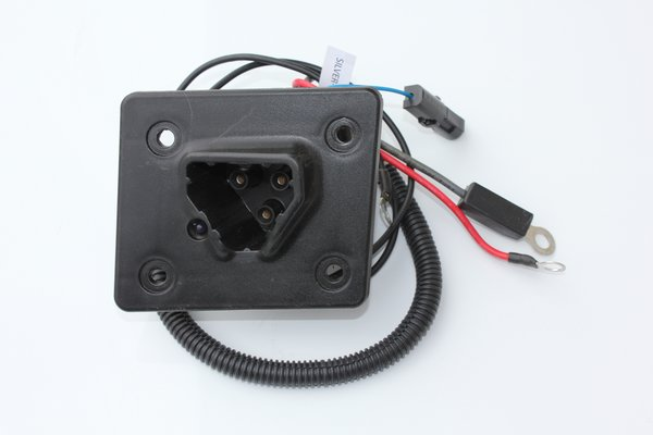 Charger Receptacle For Ezgo Rxv  U0026 48v Ezgo Txt Golf Carts