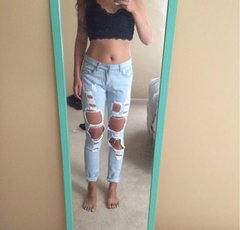 American Apparel Styled Jeans