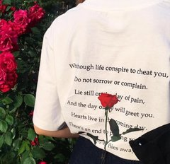Rose Quote Tee
